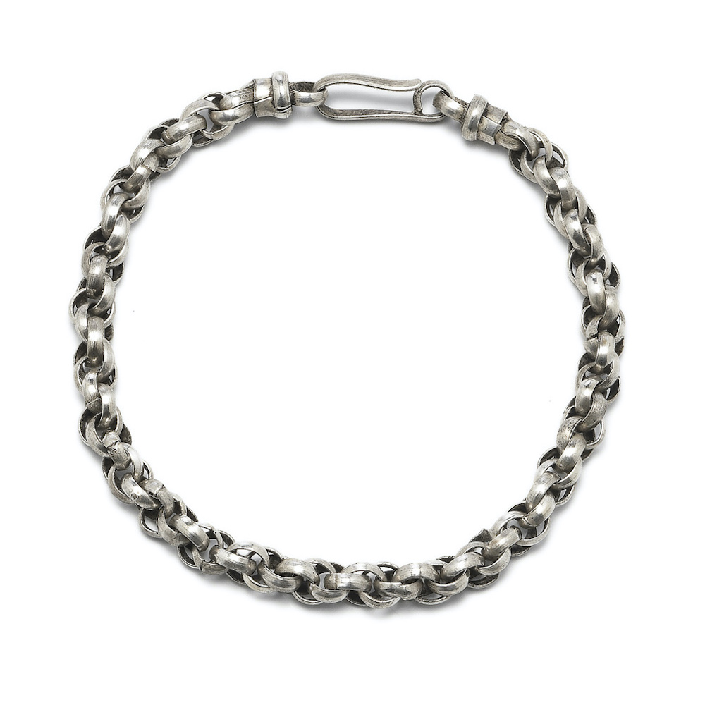 Schakel collier armband Chain necklace bracelet rond round links