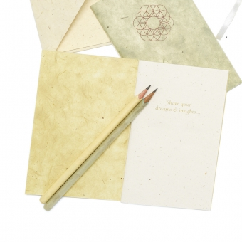 mandali notebooks schriftje pencil cards